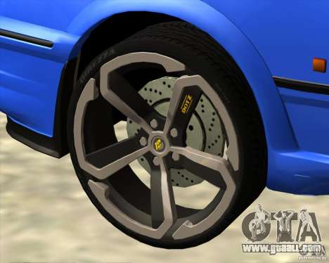 Z-s wheel pack for GTA San Andreas forth screenshot
