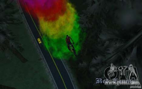Bike Smoke for GTA San Andreas