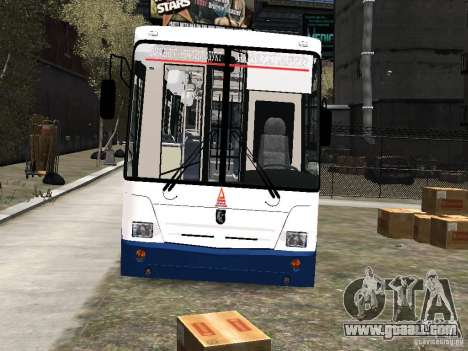 Nefaz-5299 10-15 for GTA 4 side view