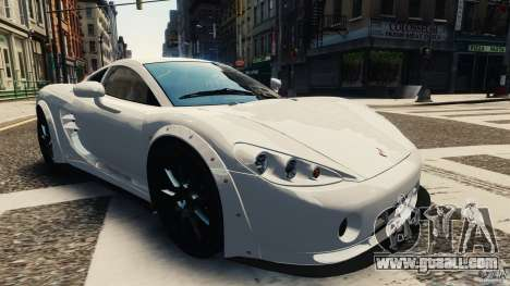 Ascari KZ1 v1.0 for GTA 4