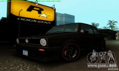 VolksWagen Golf LS for GTA San Andreas side view