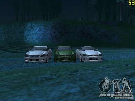 GTA IV Feltzer for GTA San Andreas left view