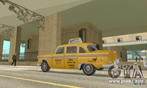 Checker Marathon 1977 Taxi for GTA San Andreas right view