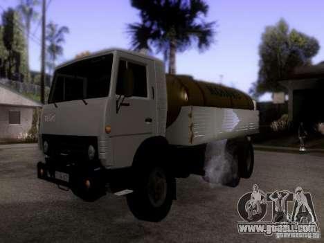 KAMAZ 53212 milk tanker for GTA San Andreas