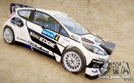 Ford Fiesta RS WRC for GTA 4