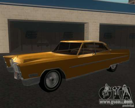 Cadillac Fleetwood Sixty Special 1967 for GTA San Andreas