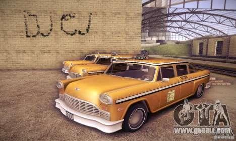Cabbie HD for GTA San Andreas
