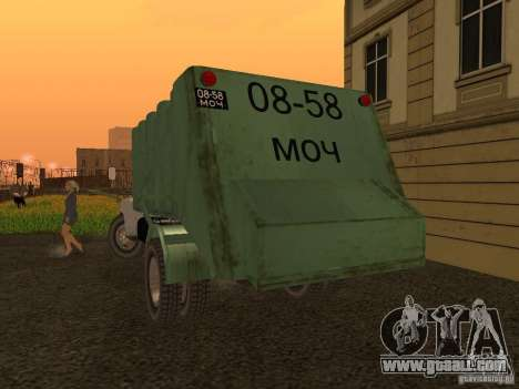 GAZ 53 for GTA San Andreas right view