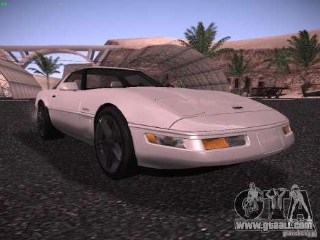Chevrolet Corvette Grand Sport for GTA San Andreas left view