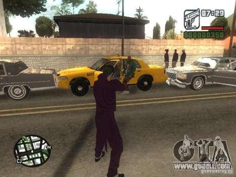 HQ Joker Skin for GTA San Andreas ninth screenshot