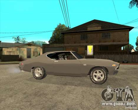 1969 Chevrolet Chevelle for GTA San Andreas right view