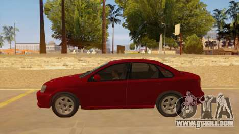 Buick Excelle for GTA San Andreas left view