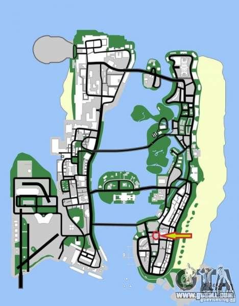 Shell Station for GTA Vice City sixth screenshot