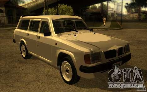 GAZ Volga 311021 for GTA San Andreas