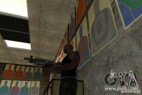 M14 EBR from the Killing Floor for GTA San Andreas third screenshot