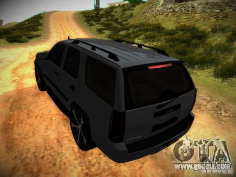 Chevrolet Tahoe HD Rimz for GTA San Andreas upper view