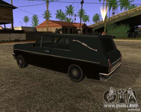 Coffin San Andreas Stories for GTA San Andreas left view