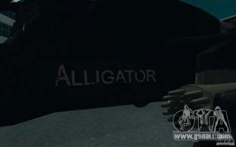 KA-52 ALLIGATOR v1.0 for GTA San Andreas back view