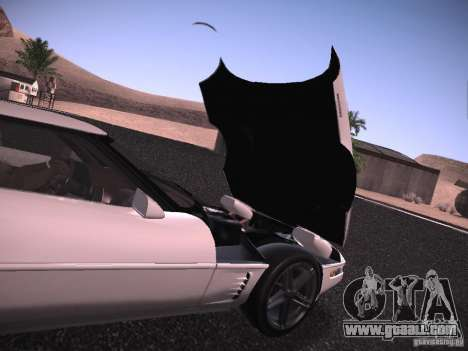 Chevrolet Corvette Grand Sport for GTA San Andreas side view