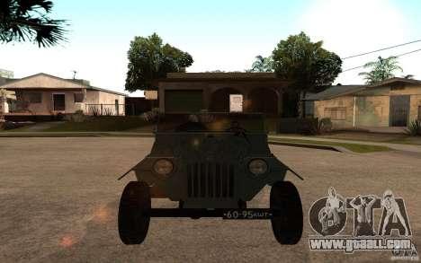 GAZ 67 b for GTA San Andreas right view