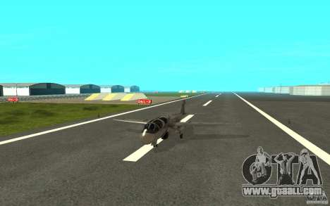 EA-6B Prowler for GTA San Andreas back left view