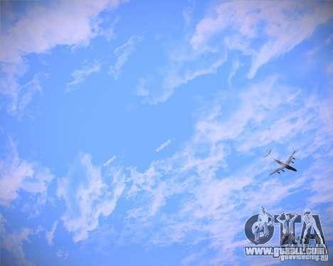 Real Clouds HD for GTA San Andreas third screenshot