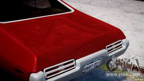 Pontiac GTO 1965 v1.1 for GTA 4 upper view