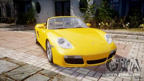 Porsche Boxster S for GTA 4