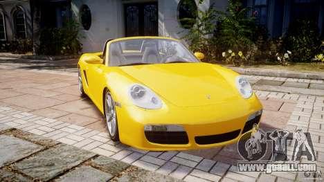 Porsche Boxster S for GTA 4