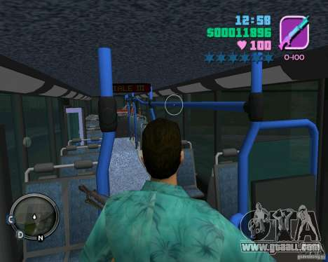 Marcopolo Bus for GTA Vice City upper view