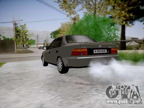 Toyota Corolla for GTA San Andreas left view