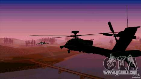 Heat traps for Hunter for GTA San Andreas fifth screenshot