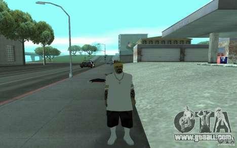 New skins Los Santos Vagos for GTA San Andreas fifth screenshot