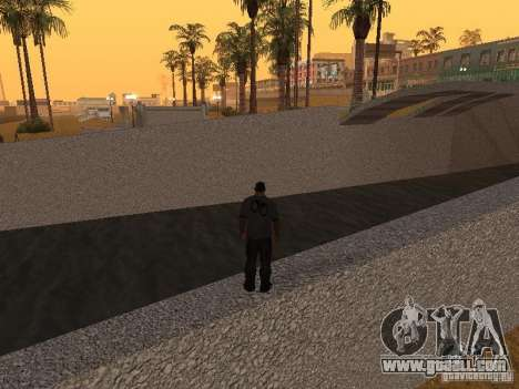 HD Santa Maria Beach for GTA San Andreas sixth screenshot