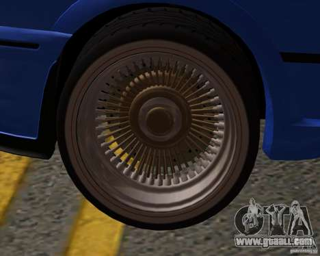 Z-s wheel pack for GTA San Andreas third screenshot