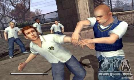 Boot clip art Bully Scholarship Edition for GTA San Andreas second screenshot