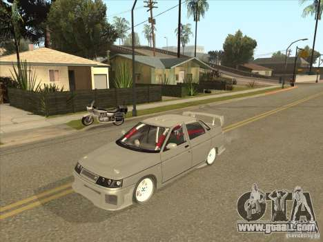 LADA 21103 Street Tuning v1.0 for GTA San Andreas back view