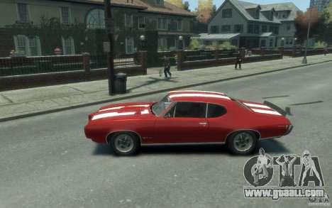 Pontiac GTO Hardtop 1968 v1 for GTA 4 left view
