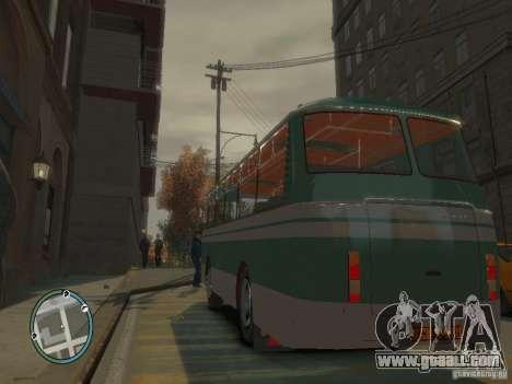 Laz-695, DAZ for GTA 4 back view