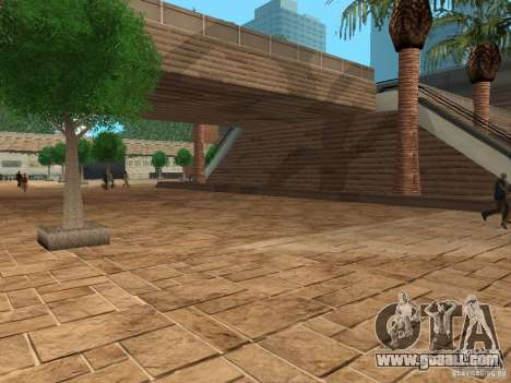 New textures shopping center for GTA San Andreas third screenshot