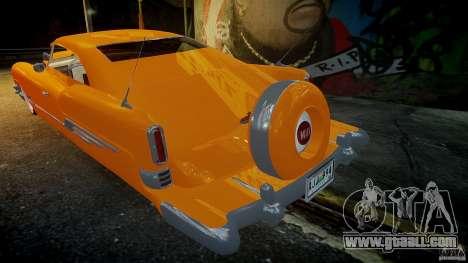 Buick Custom Copperhead 1950 for GTA 4 upper view