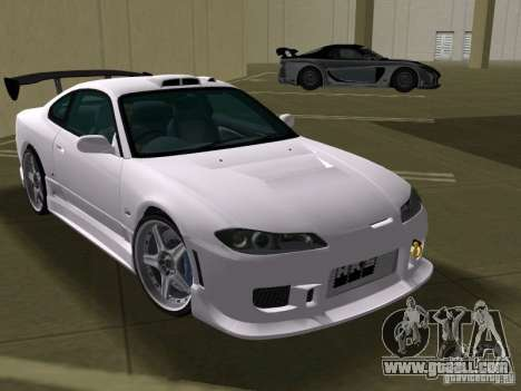 Nissan Silvia spec R Tuned for GTA Vice City back view