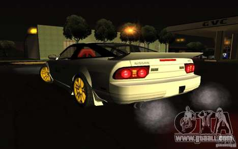 Nissan 240SX X1800 for GTA San Andreas left view