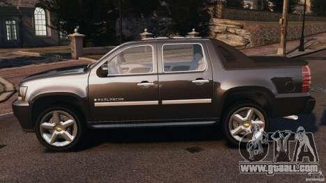 Chevrolet Avalanche Stock [Beta] for GTA 4 left view