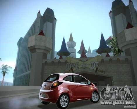 Ford Ka 2011 for GTA San Andreas right view