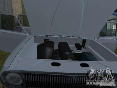 GAZ 24-02 for GTA San Andreas back view