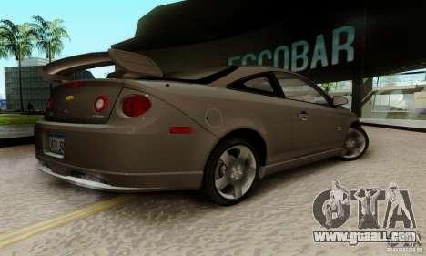 Chevrolet Cobalt SS for GTA San Andreas back left view