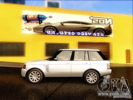 Land-Rover Range Rover Supercharged Series III for GTA San Andreas left view