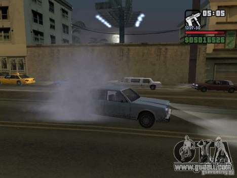 New Realistic Effects for GTA San Andreas tenth screenshot