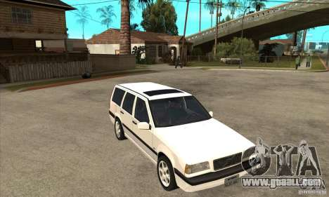 Volvo 850 GLT for GTA San Andreas back view